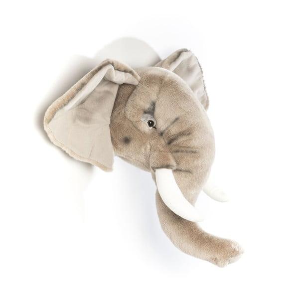 Pluszowe trofeum Słoń George