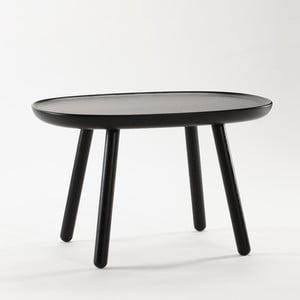 Czarny stolik z litego drewna EMKO Naïve Medium