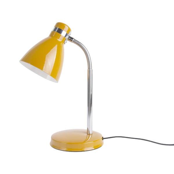 Żółta lampa stołowa Leitmotiv Study