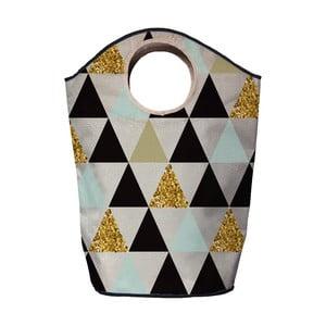 Kosz na bieliznę Butter Kings Gold Triangles