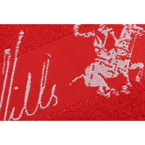 Ręcznik bawełniany BHPC 50x100 cm, truskawkowy
