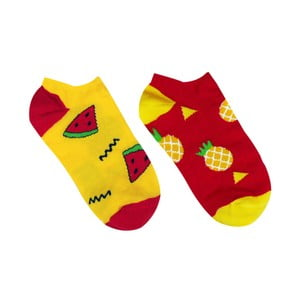 Skarpetki bawełniane/stopki Hesty Socks Tropical, rozm. 39-42
