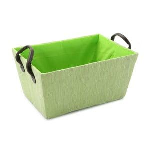 Zielony   kosz z uchwytami Green Handle