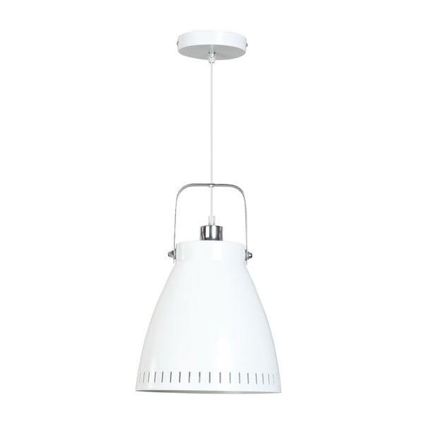Biała lampa wisząca ETH Acate Industri