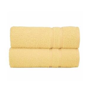 Ręcznik Sorema Basic Yellow, 70x140 cm
