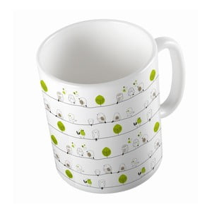 Ceramiczny kubek Birdie Style, 330 ml