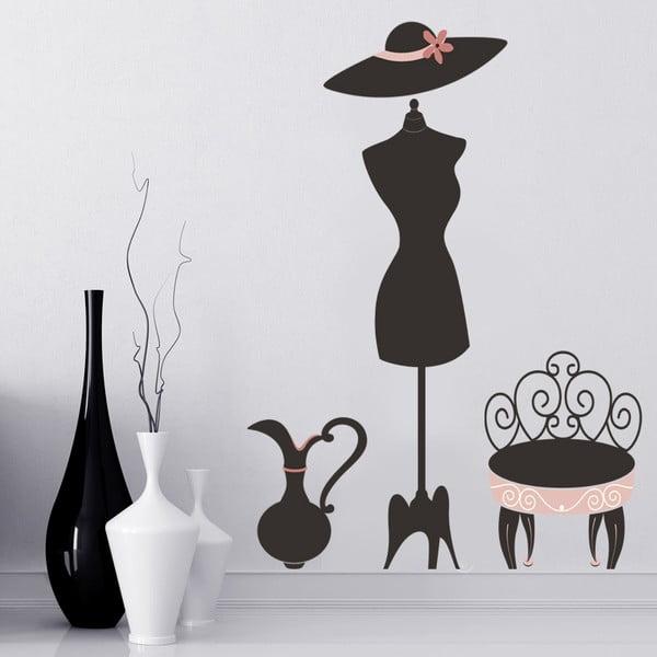 Naklejka na ścianę Sukienka, 60x90 cm