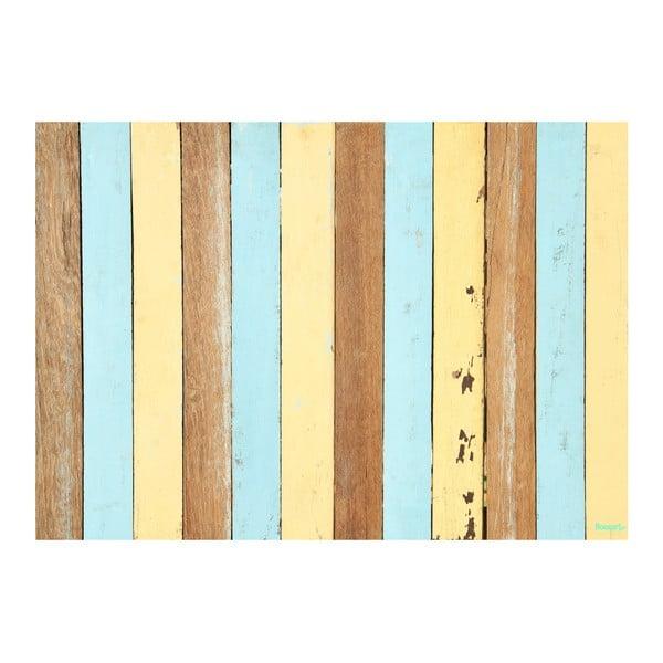 Winylowy dywan Listones Retro Pastel, 120x170 cm