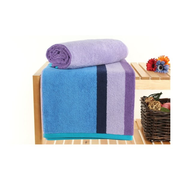 Zestaw 2 ręczników Peter Purple, 70x140 cm