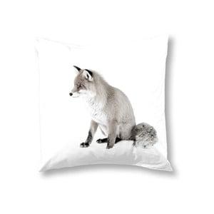 Poszewka na poduszkę Fox White, 50x50 cm