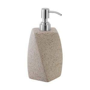 Beżowy dozownik mydła Feridras Dispenser Sandy