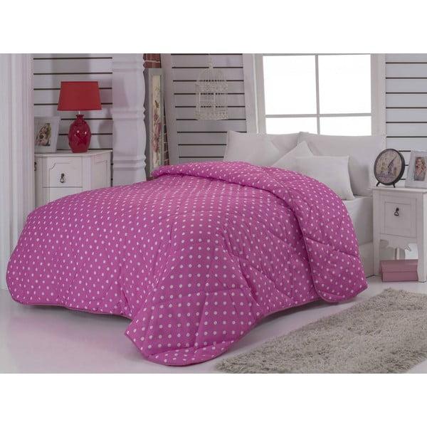 Narzuta pikowana na łóżko jednoosobowe Hannah, 155x215 cm