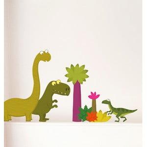 Naklejka na ścianę Dinozaury