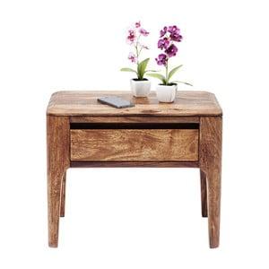 Brązowa komoda z egzotycznego drewna Kare Design Brooklyn Nature