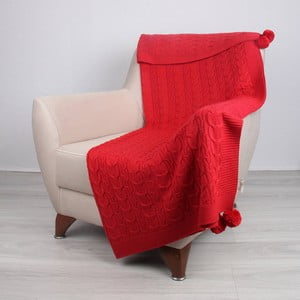 Koc Tata Red, 130x170 cm