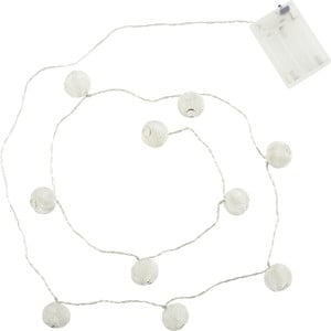 Lampki led Athezza Ball Garland