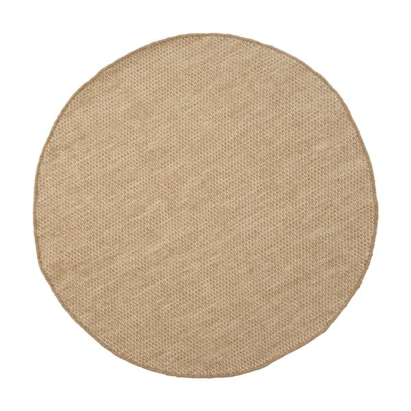 Wełniany dywan Asko Light Beige, 150 cm