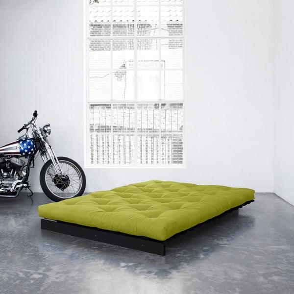 Sofa rozkładana Karup Roots Wenge/Pistacie