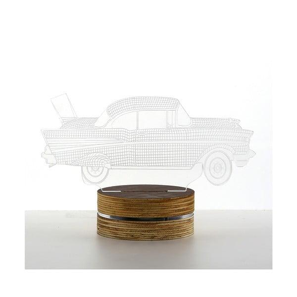 Lampa 3D stołowa Car