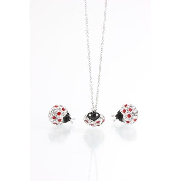 Komplet naszyjnika i kolczyków z kryształami Swarovski Elements Laura Bruni Dot