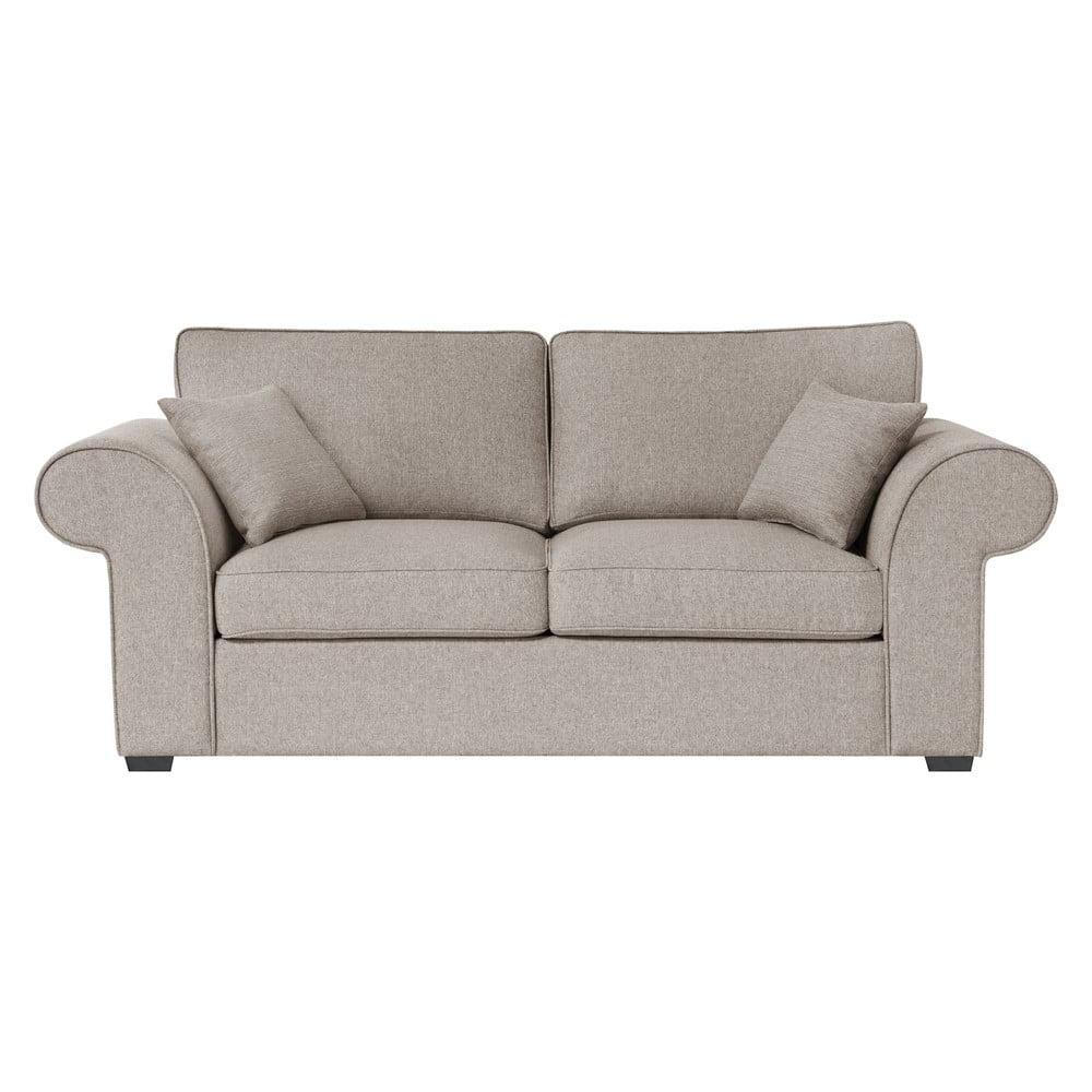 Beżowa rozkładana sofa Jalouse Maison Ivy, 200 cm