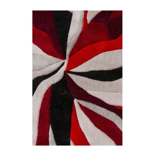 Dywan Splinter Red, 120x170 cm