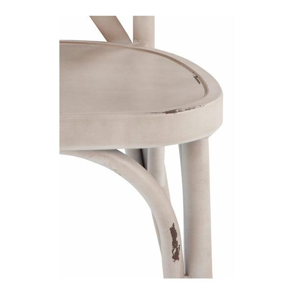 Zestaw 2 białych krzeseł bukowych Støraa Lancier