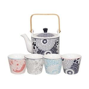 5-częściowy zestaw do herbaty Tokyo Design Studio Shiki