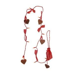 Świecący łańcuch LED Best Season Romantic Hearts
