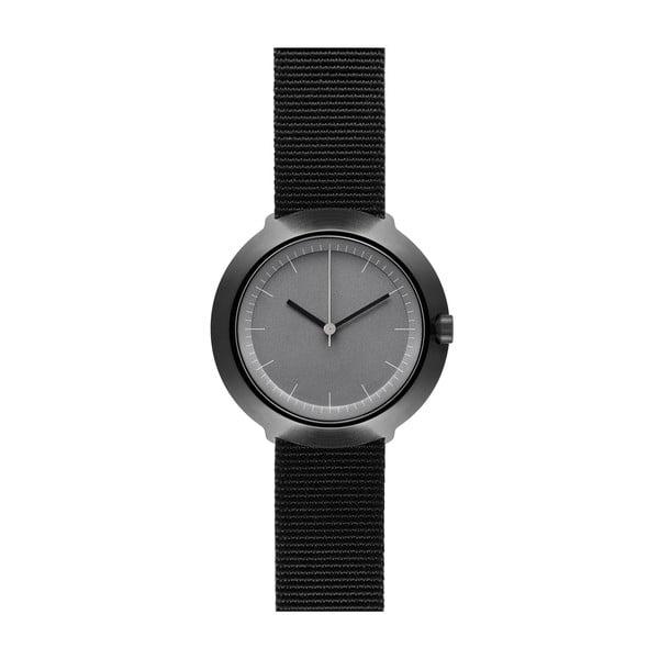 Zegarek Grey Fuji Black Nylon, 43 mm