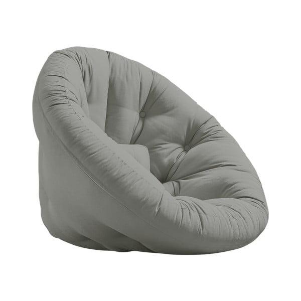 Fotel rozkładany Karup Design Nest Grey