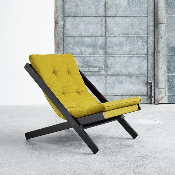 Fotel składany Karup Boogie Black/Pistacio