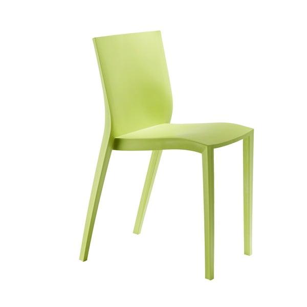 Komplet 2 krzeseł Slick Slick, zielone