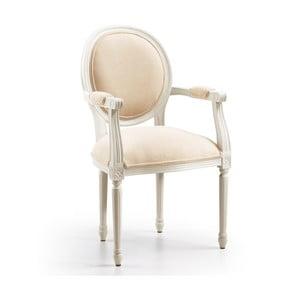 Fotel Vintage Old White
