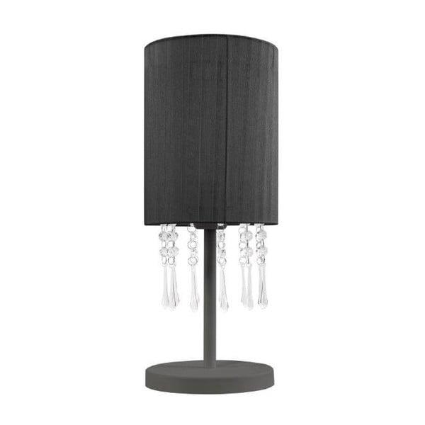 Lampa stołowa Venecia, czarna