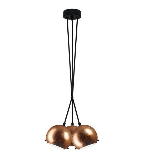 Potrójna lampa MYOO copper/black/black