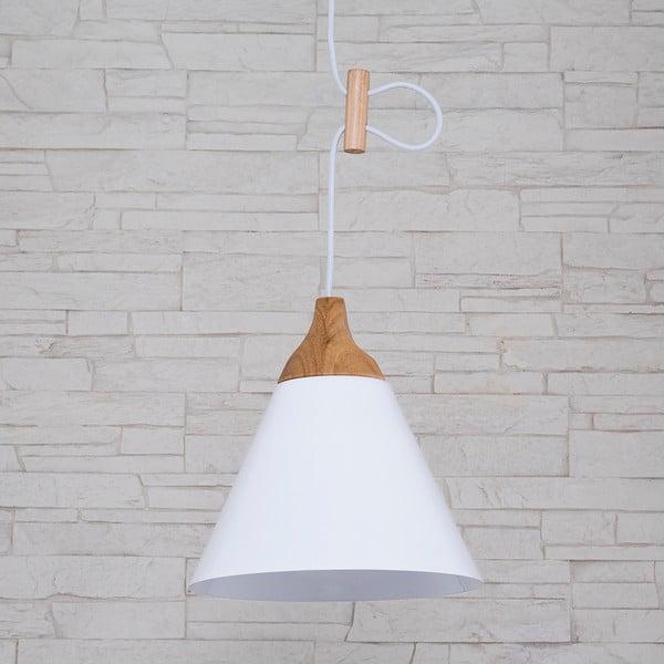 Lampa wisząca Tomas M, biała