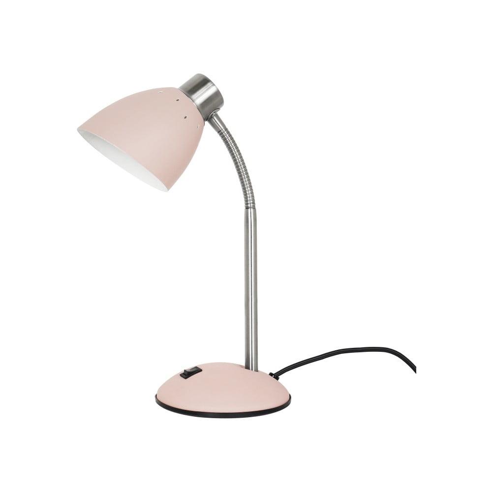 Różowa lampa stołowa Leitmotiv Dorm