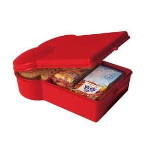 Pojemnik na żywność, czerwony