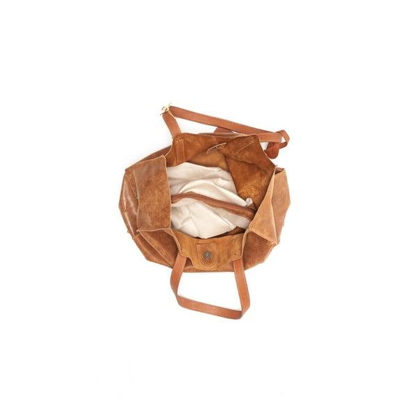 Skórzana torebka Renata Corsi 892 Cognac