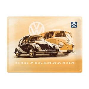 Blaszana tablica Der Volkswagen, 30x40 cm