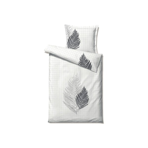 Pościel Summer Fern Grey, 140x200 cm
