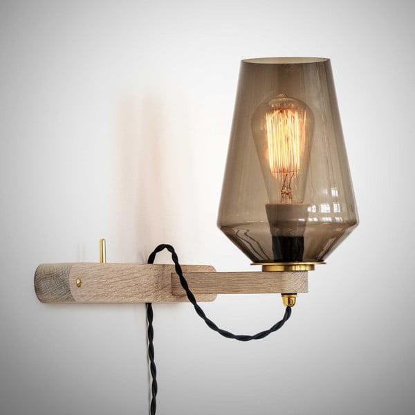 Lampa ścienna i wieszak w jednym Stick Small