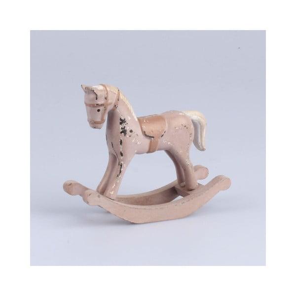 Drewniany konik Dakls, dł. 11,5 cm