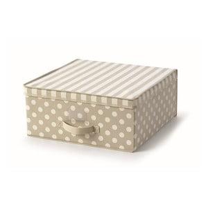 Beżowe pudełko z pokrywką Cosatto Trend, 45x45 cm