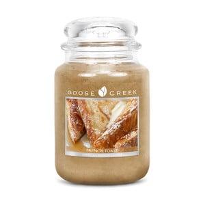 Świeczka zapachowa w szklanym pojemniku Goose Creek Francuskie tosty, 0,68 kg