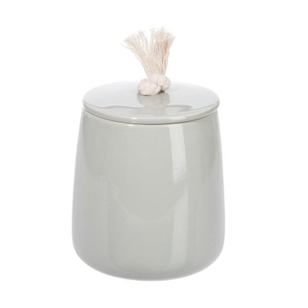 Ceramiczny pojemnik Jolipa Gray, 14 cm