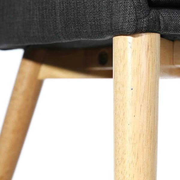 Krzesło Retro Up, szare