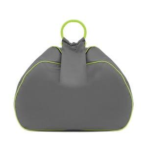 Worek do siedzenia Vivonia Outdoor Dark Grey/Acid Green