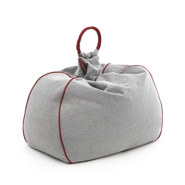 Worek do siedzenia Vivonia Indoor Grey/Red